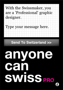 anyone can swiss